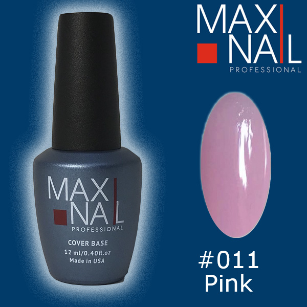 База MaxiNail Rubber Cover Base Nude #011 12 ml