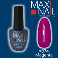 Гель-лак MaxiNail rubber gel polish #074 8 ml