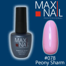 Гель-лак MaxiNail rubber gel polish #078 8 ml