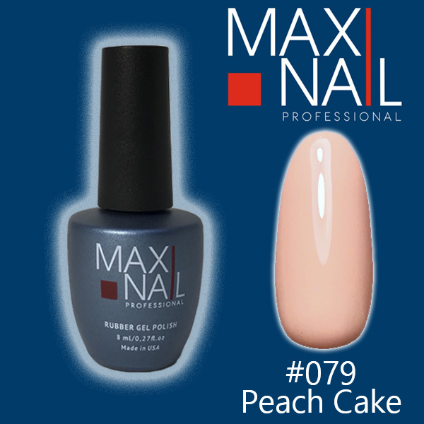 Гель-лак MaxiNail rubber gel polish #079 8 ml