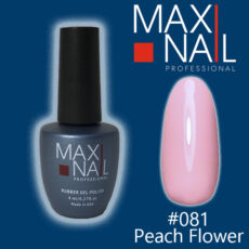 Гель-лак MaxiNail rubber gel polish #081 8 ml