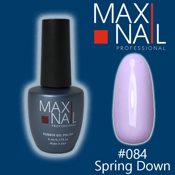 Гель-лак MaxiNail rubber gel polish #084 8 ml