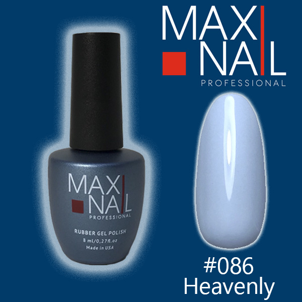 Гель-лак MaxiNail rubber gel polish #086 8 ml