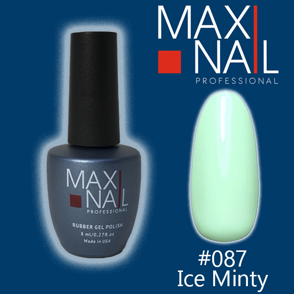 Гель-лак MaxiNail rubber gel polish #087 8 ml