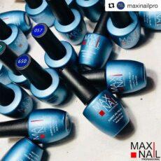 Каучуковый высокопигментированный Гель-лак MaxiNail rubber gel polish
