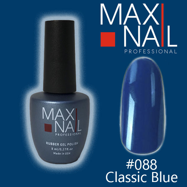 Гель-лак MaxiNail rubber gel polish #088 8ml