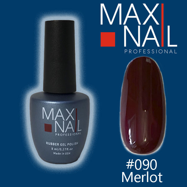 Гель-лак MaxiNail rubber gel polish #090 8ml