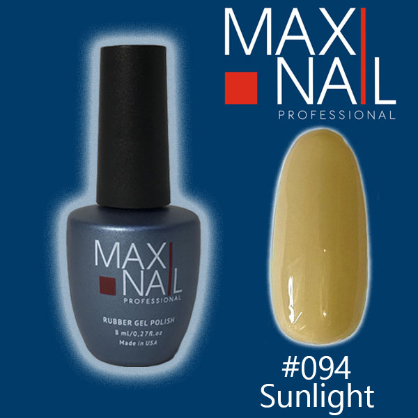 Гель-лак MaxiNail rubber gel polish #094 8ml