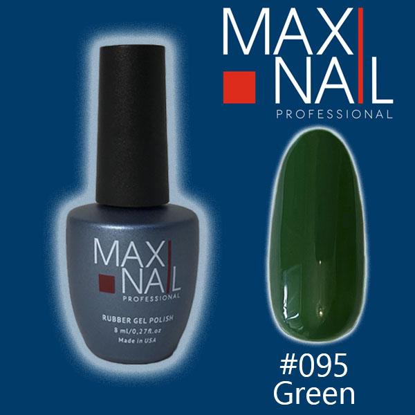 Гель-лак MaxiNail rubber gel polish #095 8ml