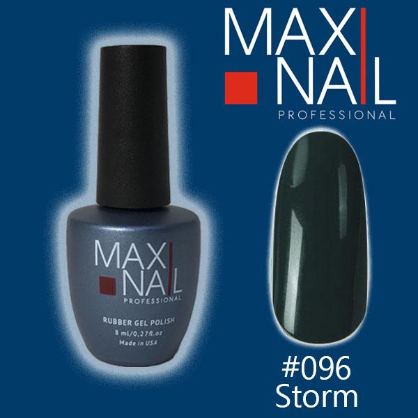 Гель-лак MaxiNail rubber gel polish #096 8ml