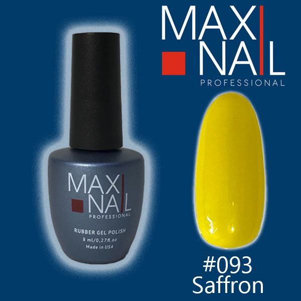 Гель-лак MaxiNail rubber gel polish #093 8ml