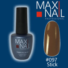 Гель-лак MaxiNail rubber gel polish #097 8ml