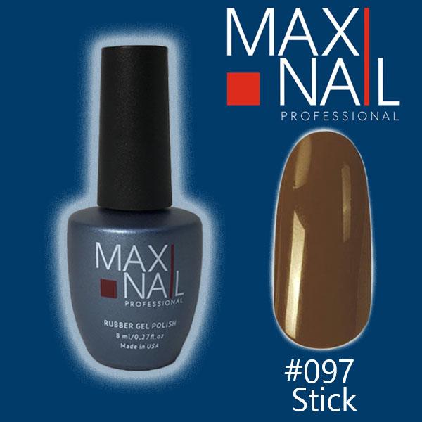 Гель-лак MaxiNail rubber gel polish #097 8ml