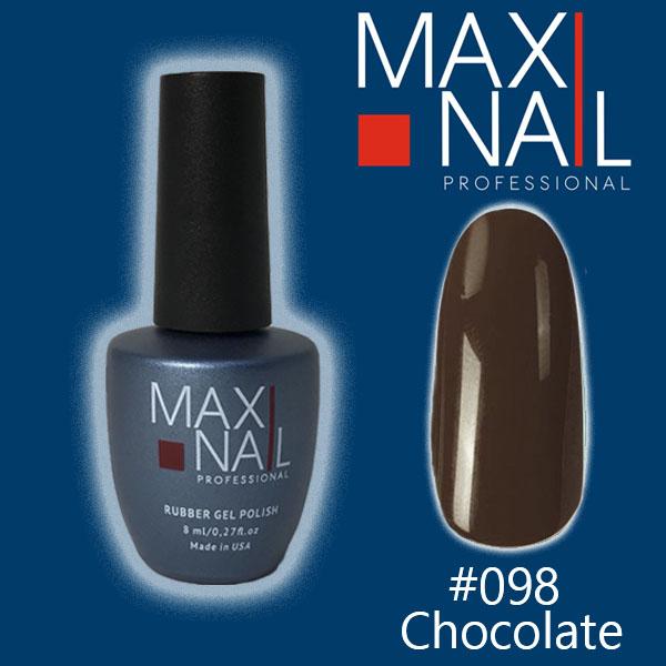Гель-лакMaxiNailrubber gel polish #098 8ml